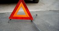 Под Омском грузовик врезался в пассажирский ПАЗ