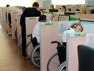 В Омской области инвалидам находят работу