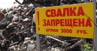 Из спального района Омска вывезли 30 000 кубометров мусора