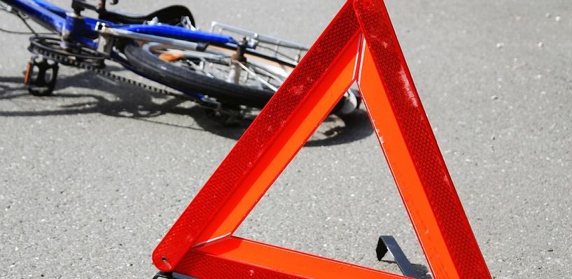 В Омской области водитель «ВАЗа» сбил 7-летнюю велосипедистку
