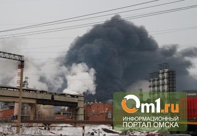 После взрыва «Омский каучук» посетил Виктор Назаров