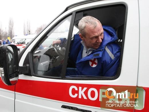 В центре Омска на дороге в авто нашли человека: он не помнит, кто он такой