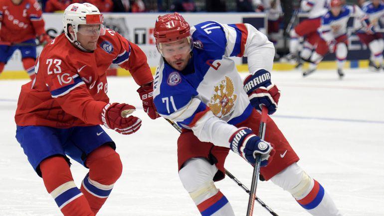 Сборная России по хоккею легко обыграла Норвегию в стартовом матче Чемпионата мира
