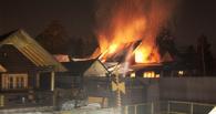 В Омске ночью горела дача в «Родничке»