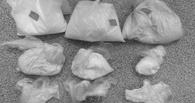 В Омске задержали 19-летнюю девушку с 9 кг «синтетики»