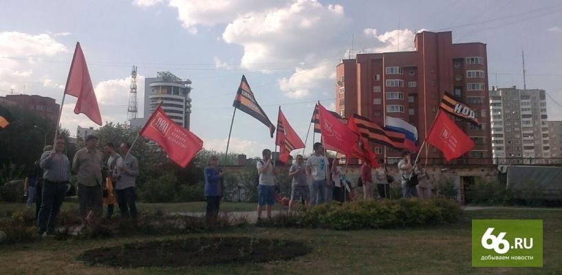 Научился уворачиваться: тортометатели из НОД полдня гонялись за Михаилом Касьяновым по Екатеринбургу