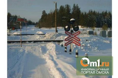 В Омской области водитель ВАЗа погиб в ДТП на ж/д переезде