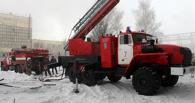 В Омске из-за мусора горел цех «Омск-Полимера»