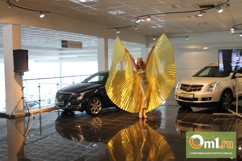 В Омске прошла презентация спортивного седана Cadillac ATS