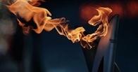 В Костроме олимпийский факел взорвался в руках 13-летней девочки