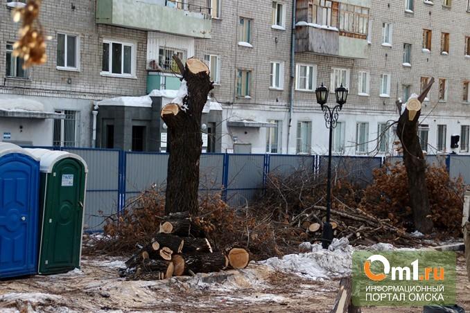 Двораковский предложил омичам проконтролировать озеленение улицы Валиханова