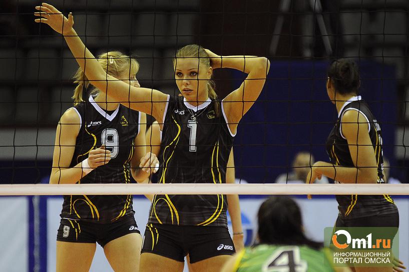 Волейболистки «Омички» уступили «Уралочке» в домашнем матче