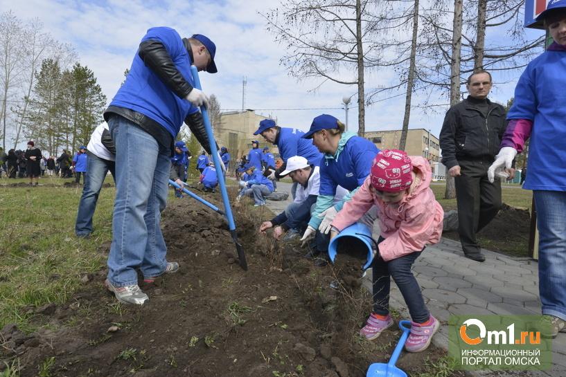 В Омске прошел «Экологический десант»