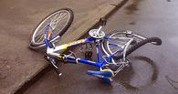 В Омске на Заозерной автоледи сбила ребенка на велосипеде
