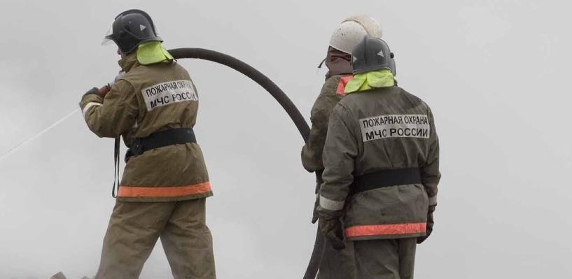 В Омской области сгорела пилорама: погибли три человека