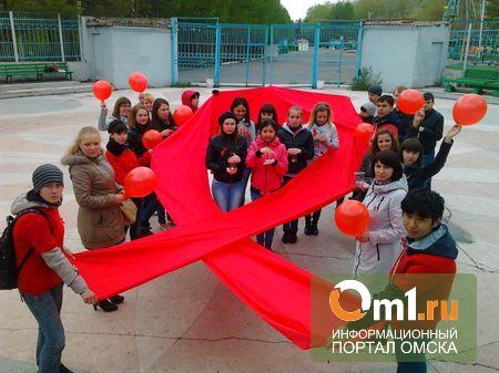 Память умерших от СПИДа в Омске почтут «Горящими свечами»