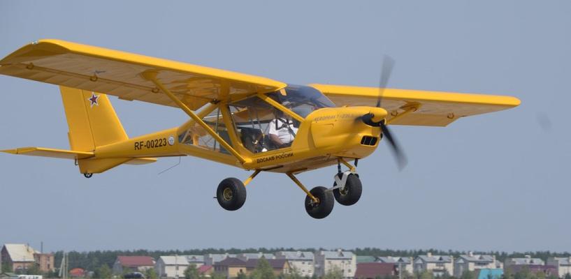 Над Омском кружил частный самолет с «просроченными правами»