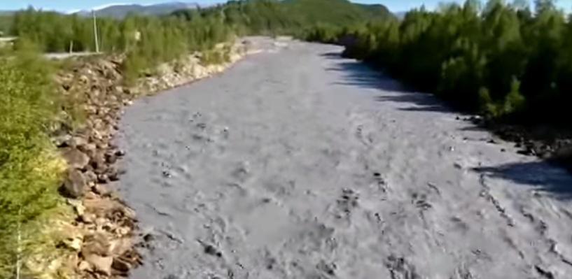 В Омск по Иртышу плывут тяжелые металлы из Казахстана