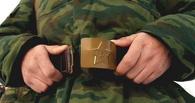 Омского солдата поймали с наркотиками