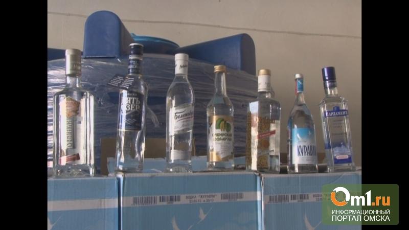 В Омской области подделывали водку «Беленькая» и «Парламент»
