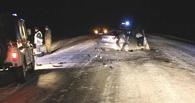 В аварии в Омской области 1 человек погиб, еще 7 попали в больницу