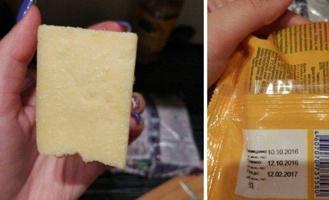 Омичка едва не съела просроченный сыр