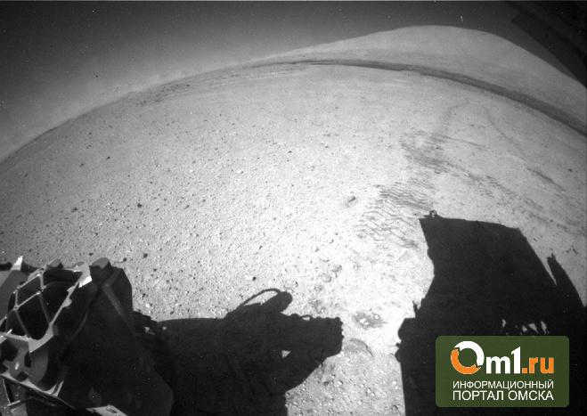 Curiosity заснял на поверхности Марса НЛО