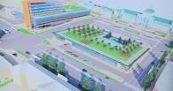 В Омске на Привокзальной площади появится подземная парковка на 465 мест