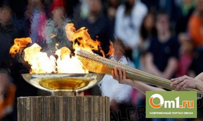 Олимпийский огонь по Омской области пронесут 80 человек
