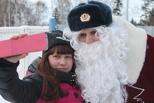 В Омске завершилась эстафета Полицейского Деда Мороза