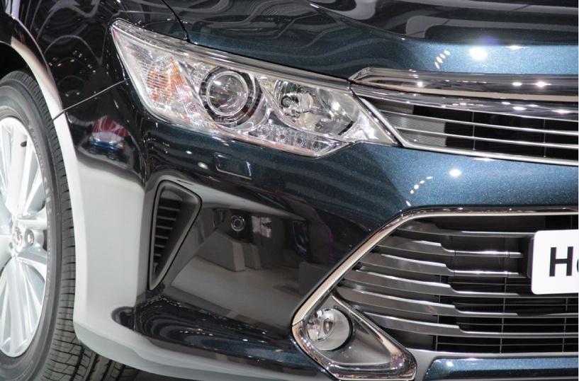 В Россию приехала новая Toyota Camry