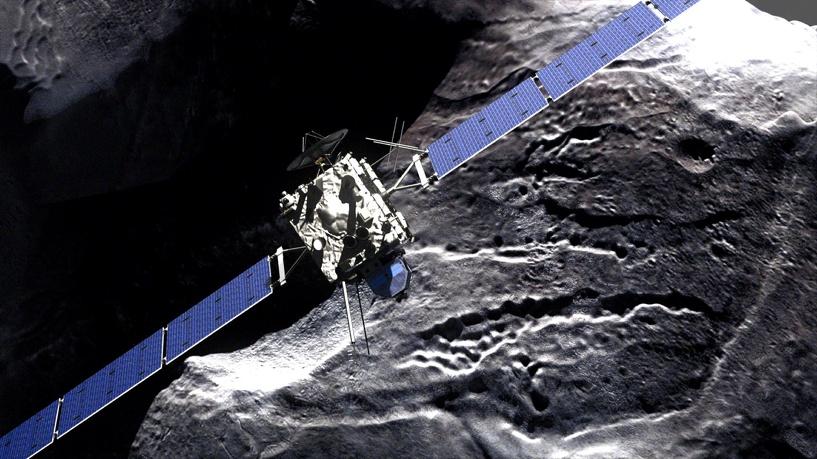 Ученые потеряли связь с модулем Philae: робот разрядился и уснул