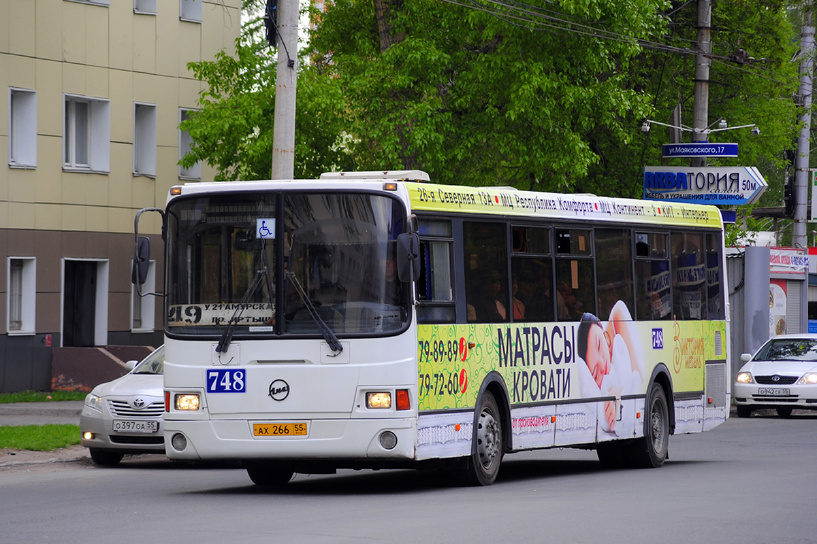 В Омске автобус №49 начнет