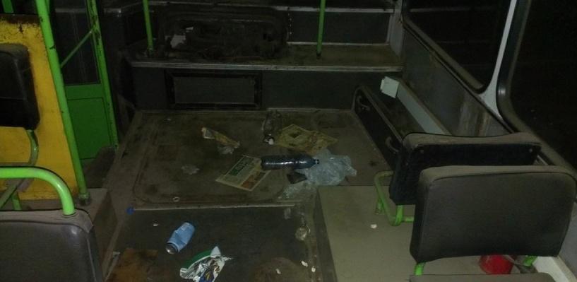 Омское ПАТП №2 ведет проверку «разграбленных автобусов» и накажет ответственных
