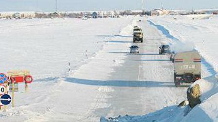 В Омской области открыли седьмую переправу через Иртыш