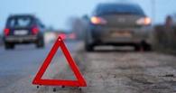 В Омске на Черлакском тракте дорогу не поделили «десятка» и «Нива»