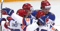 Первая победа на домашнем ЧМ по хоккею: Россия обыграла Казахстан