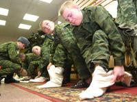 Российская армия просит Шойгу вернуть портянки