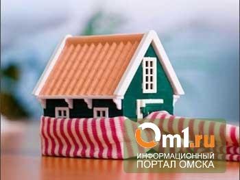 В Омске отопление дали уже в половине жилых домов