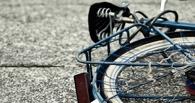 В Омске «Тойота» наехала на трех подростков-велосипедистов