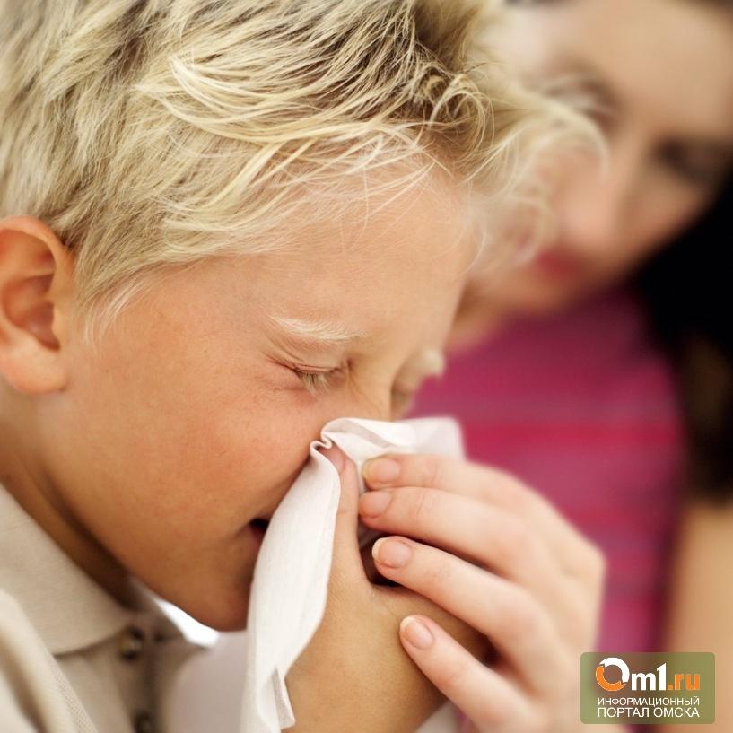 За неделю в Омской области гриппом заболело свыше 22 тыс человек