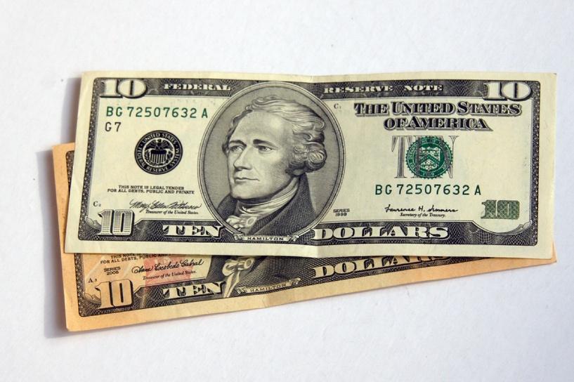 На американской десятидолларовой купюре будет изображено женское лицо