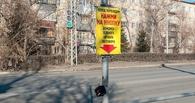 В Омске у Советского парка появится кнопочный светофор