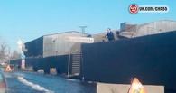 Омич вышел удить рыбу в луже на Красноярском тракте