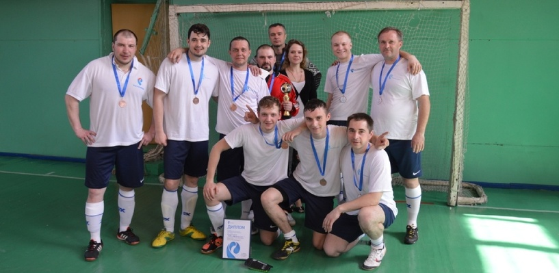 «Ростелеком» в Омске завоевал бронзу в турнире по мини-футболу