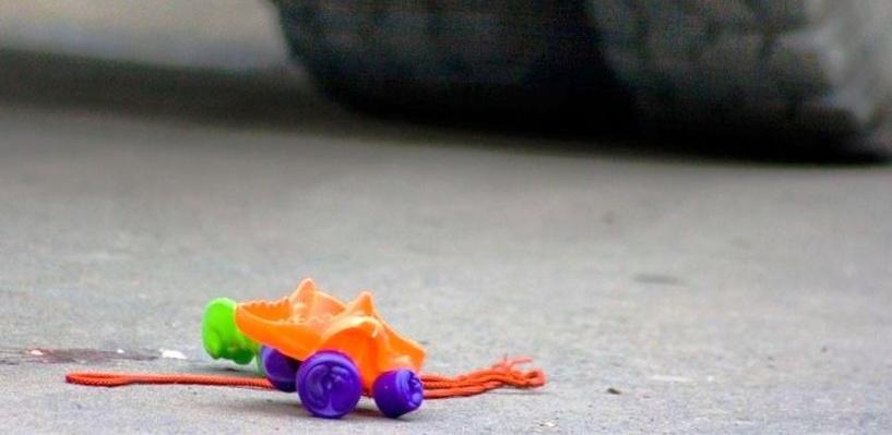 В Омске пьяный водитель на Lexus сбил ребенка