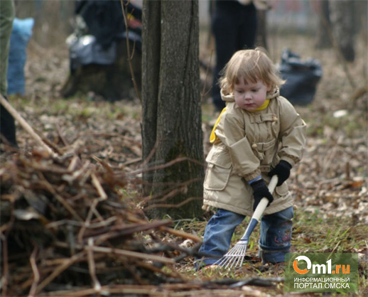 В Омске на уборку города выйдут около 100 000 человек