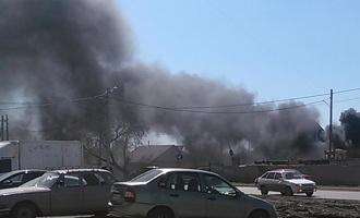 В центре Омска при пожаре погиб мужчина