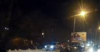 В Омске на Красном пути столкнулись четыре автомобиля