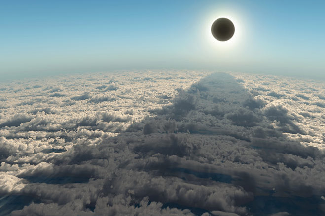 20 марта омичи смогут наблюдать солнечное затмение